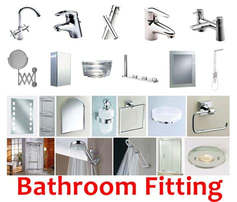 bathroom fittings names comprehensive list of must have bathroom fittings
