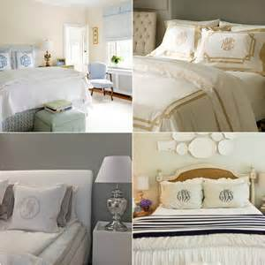 Monogram Comforters Monogrammed Bedding Obsession The Southern Thing