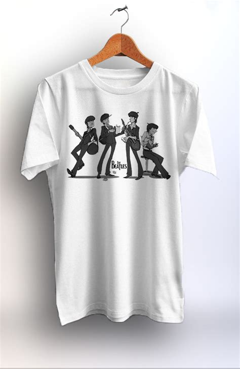 T Shirt The Beatles 04 the beatles unisex tshirt best quality graphic print
