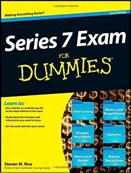 7 Book Series I by Series 7 For Dummies Steven M Rice 9781118209868