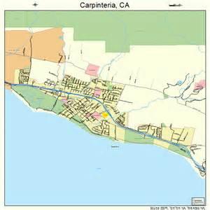 carpinteria california map 0611446