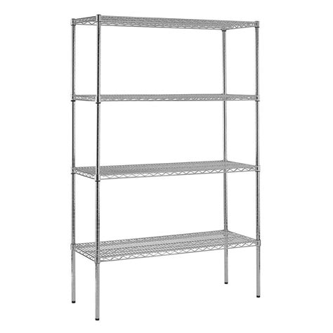 sandusky 4 shelf 74 in h x 48 in w x 18 in d heavy duty