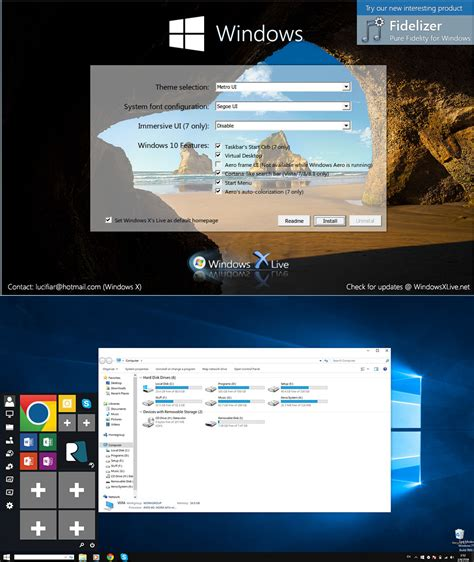 ux themes for windows 10 windows 10 ux pack 5 0 by windowsx on deviantart