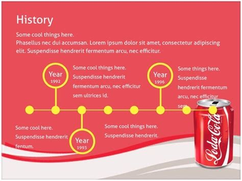 Coca Cola Powerpoint Template Free Coca Cola Powerpoint Template