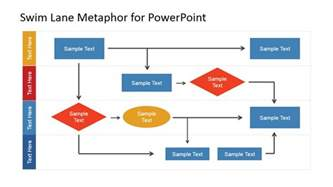 Flow Chart Template Powerpoint by Swim Work Process Flow Chart For Powerpoint Slidemodel