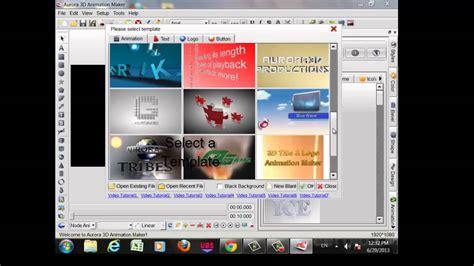 tutorial web cartoon maker how to download aurora 3d animation maker tutorial youtube