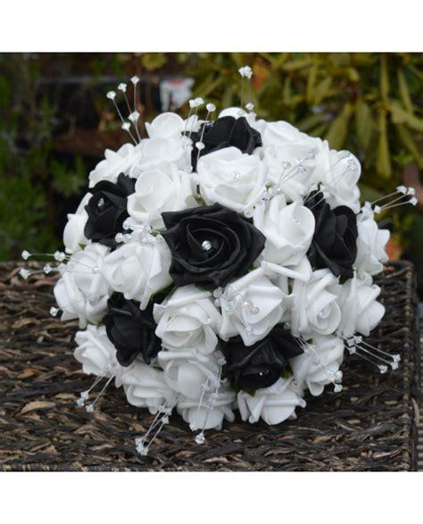Flower Posies Weddings by Black White Bridal Flower Bouquets And Posies Wedding