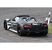 Spyshots 2014 Porsche 918 Spyder  Autoevolution