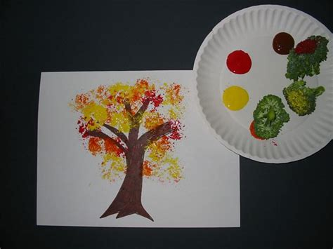 Brown Paint Colors 4 Fun Vegetable Print Art Project Ideas For Young Children