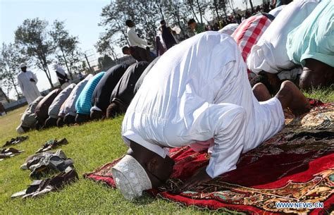 muslims celebrate festival of eid al adha china org cn