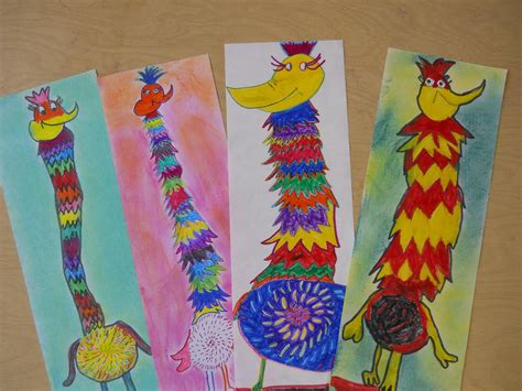 elementary crafts the elementary room dr seuss creations tizzled