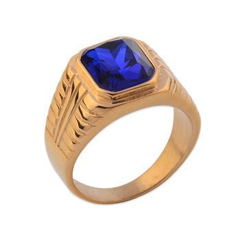 India Gold Design Stone Ring Designs For Men   Buy Stone