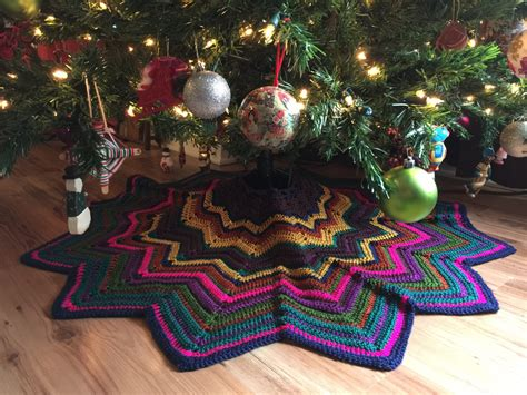 christmas tree skirt rustic christmas tree skirt boho