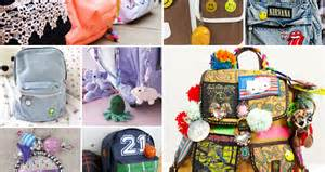 how to decorate a backpack brighten up that backpack