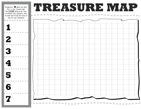 blank pirate map template treasure map diy map template hip hip hooray