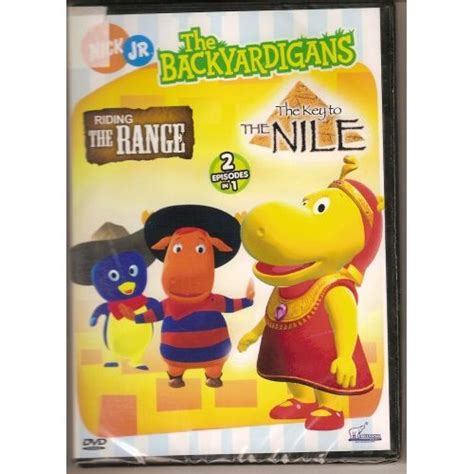 Backyardigans Of The Nile The Backyardigans The Range With The