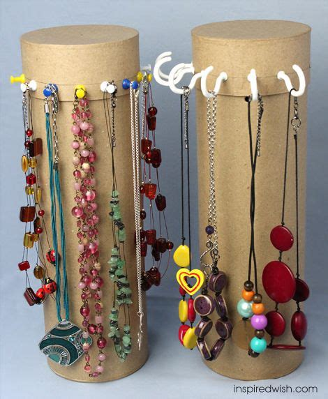 inspired wish diy necklace stand holder level easy
