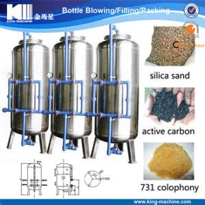 Carbon Active King Filter china silica sand active carbon sodium ion exchanger