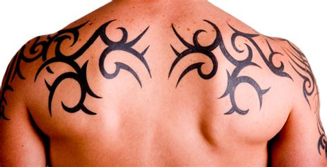 back tattoos for men tribal designs