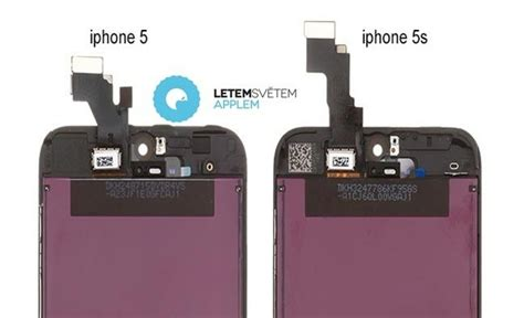 Kamera Depan Small Front 4s Original 1 iphone 5s front panel shows small changes iphone 5