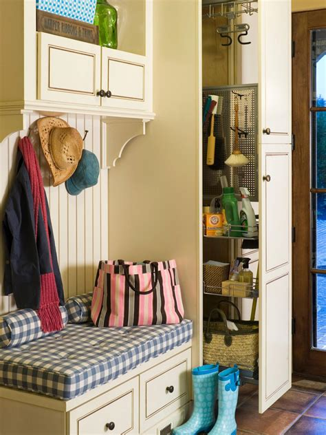 mudroom organization finding a place for your mudroom hgtv