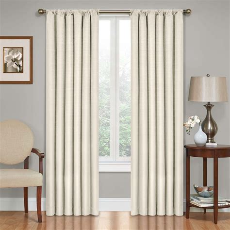 picture window curtains kendall blackout window curtain panel ebay