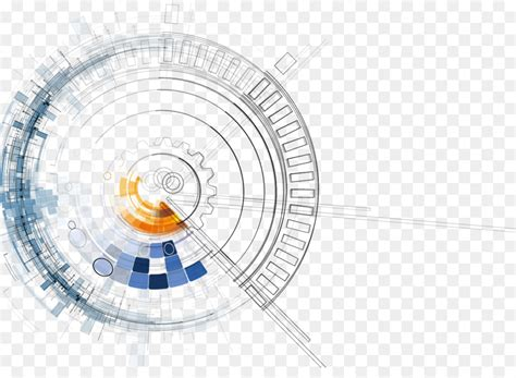 technology euclidean vector abstract dynamic fashion technology background  transprent