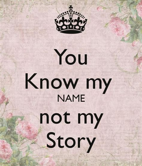 robicheaux you know my you know my name not my story poster jenny keep calm o matic
