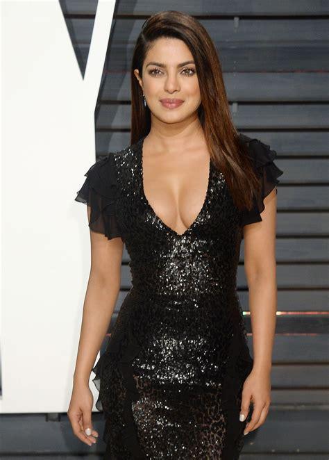 Priyanka Chopra Priyanka Chopra At 2017 Vanity Fair Oscar In Beverly