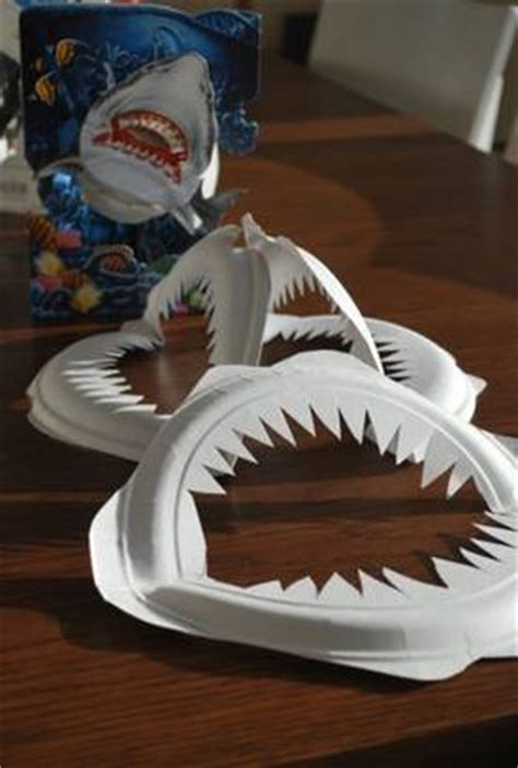 How To Make Vire Fangs Out Of Paper - howto make shark jaws out of paper plates boing boing