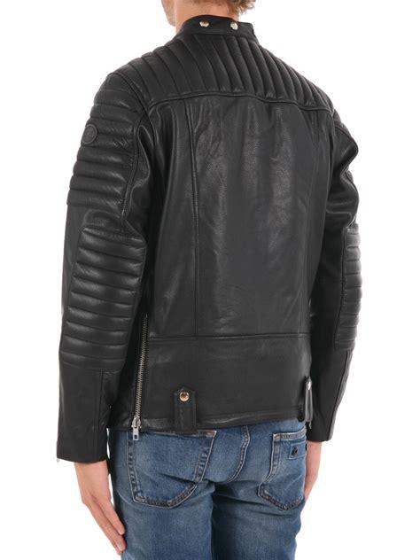 Padded Biker Jacket padded leather biker jacket by colmar originals leather