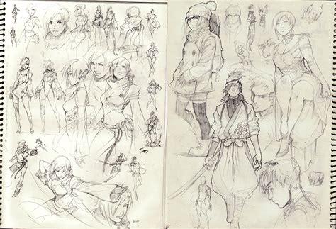sketchbook reiq 2013 sketches by kasai on deviantart