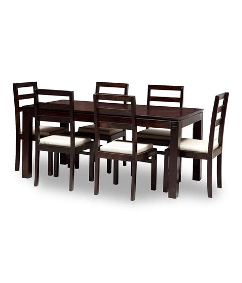 Dining Table For Sale In Jaipur Jaipur 6 Seater Dining Set Includes Dining Table Plus 6