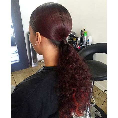 hair pony tailforafrican hair 963 best bad ass hair styles and color images on pinterest