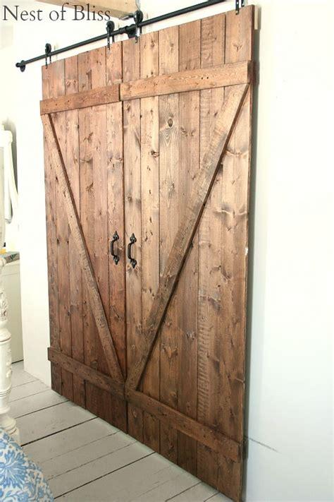 diy barn doors farmhouse inspiration   modern twist