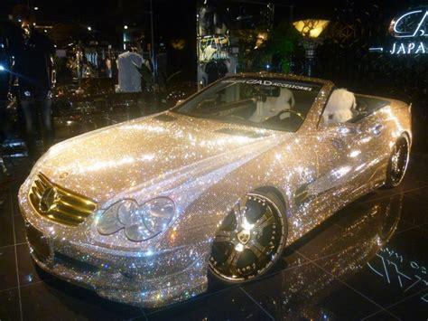 glitter car mercedes benz crystal bling glitter manifesting