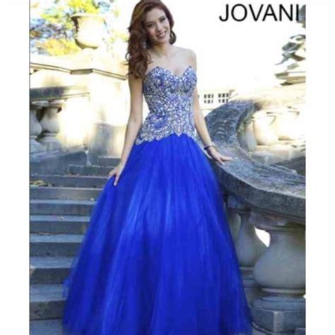 Bjg Blue Dress big prom dresses images
