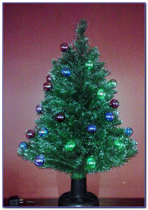 fiber optic tabletop christmas trees  page home design ideas galleries home design