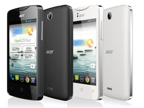 Hp Acer Liquid Z3 Android smartphone liquid z3 duo blanc acer achat vente