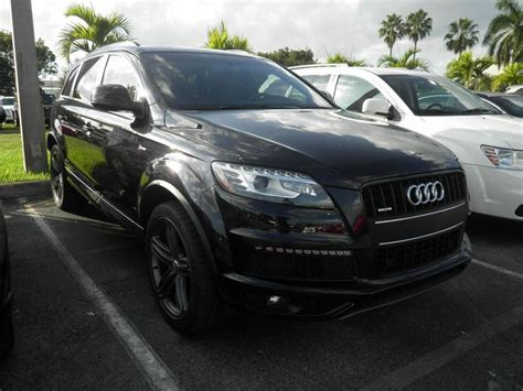 audi q7 s line package my new q7 s line w black optic exterior package
