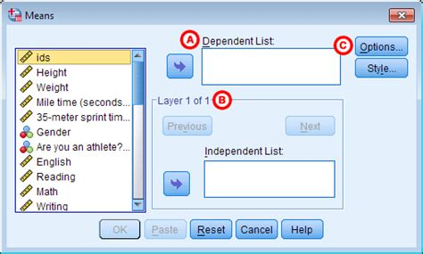 spss tutorial advanced descriptive stats by group compare means spss