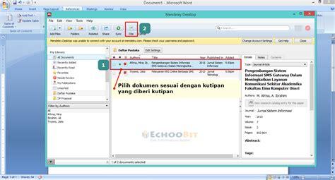 aplikasi untuk membuat daftar pustaka cara membuat menyusun daftar pustaka secara otomatis