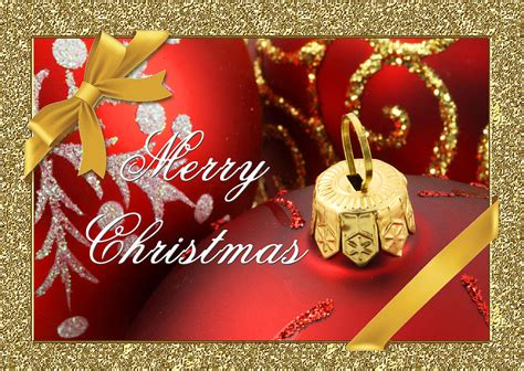merry christmas card digital art  blair wainman