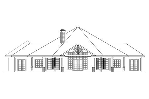 House Plans With Open Floor Plan Design Georgian House Plans Myersdale 10 453 Associated Designs