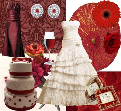 colour themes with red red wedding theme wedding colors ideas
