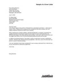 Lpn Cover Letter by Cover Letter For Lpn Sle Cover Letter Templates