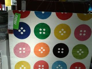 ikea button rug new ikea tastrup button themed rug and fabric