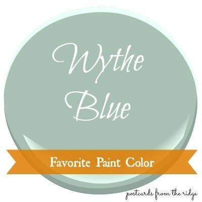 favorite paint color benjamin wythe blue wythe blue is somewhere between a blue green