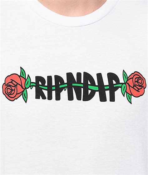 affordable rosemary windsor white t shirt mens ripndip cheap online store
