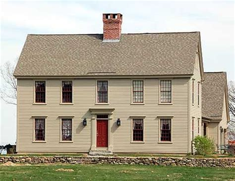 Traditional Colonial House Plans by Classic Colonial With Options